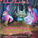 Cover IDEA on the discovery of the mine in Ossola, Piedmont