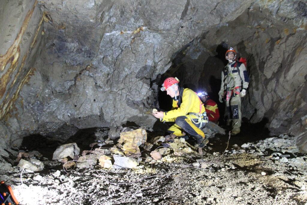 campionamento minerali