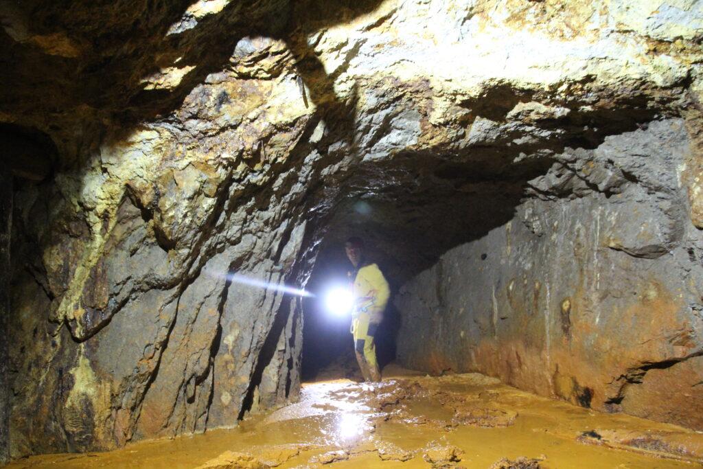 first exploration toni mine, Piedmont, Ossola