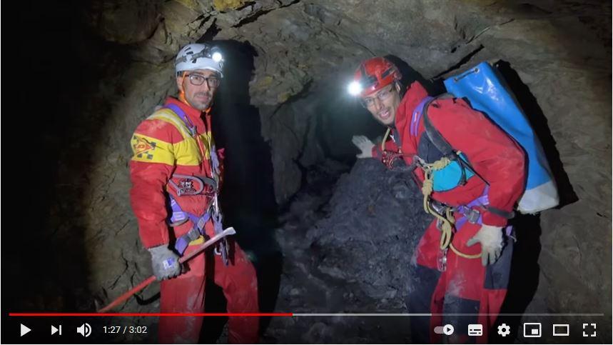 La scoperta dell'esplosivo nella miniera