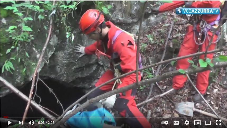 Servizio VCOazzurraTV sul reperto trovato nella miniera perduta